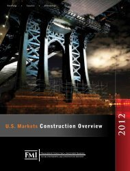 U.S. Markets Construction Overview - FMI