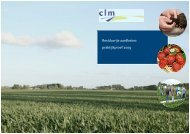 Residuvrije aardbeien: praktijkproef 2009 - Clm