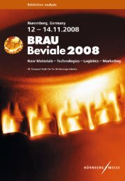 2. Selected results of visitors survey - Brau Beviale