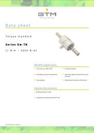 Datasheet - GTM GmbH