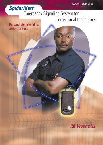 SpiderAlert Emergency Signaling System - Visonic Technologies
