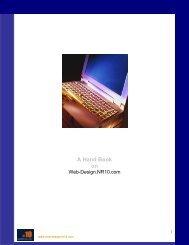 A Hand Book on - San Francisco web designers - 10 LLC