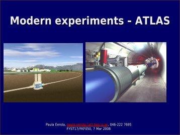 atlas - Particle Physics