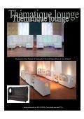 Vous désirez une soirée lounge lors de votre prochain événement ... - Page 3