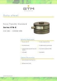 Data sheet Serie KTN-D - GTM GmbH