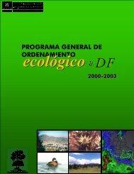 Programa General de Ordenamiento Ecológico del Distrito ... - PAOT