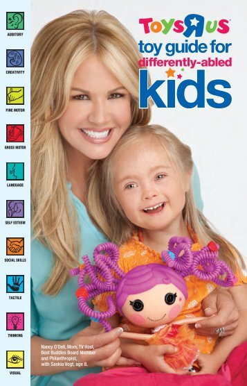 """Toy Guide for Differently-Abled Kids - Toys """"R"""""""