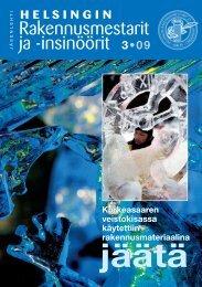 Yhdistyksen jäsenlehti 3/09, PDF tiedosto - Helsingin ...
