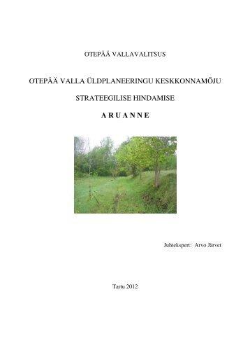 Otepää valla KSH (pdf) - Otepää vald