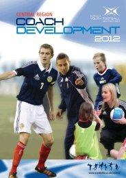 Central region coach development - Scottish Football Association