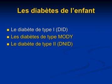MODY et Diabète de type II