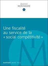 une fiscalité au service de la « social compétitivité » - Urbamet
