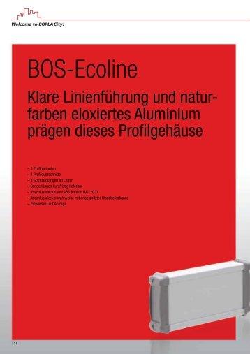 BOS-Ecoline - Bopla