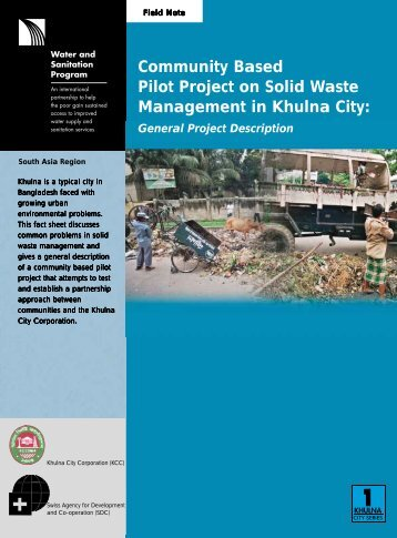 Community Based Pilot Project on Solid Waste Management ... - WSP