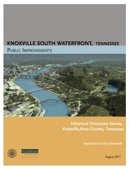 Historical Structures Survey [PDF] - City of Knoxville