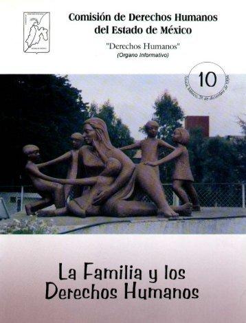 La familia y los derechos humanos - codhem