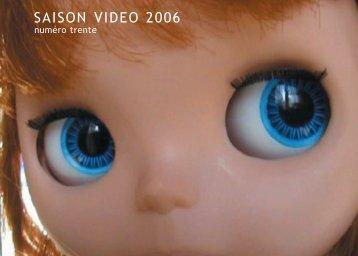 Programme Saison Video 2006 - saison vidéo