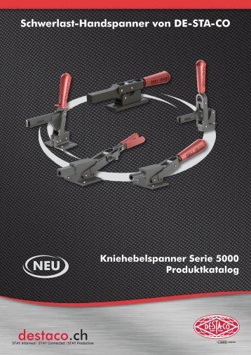 Schwerlast - Handspanner - DE - STA - CO AG Schweiz
