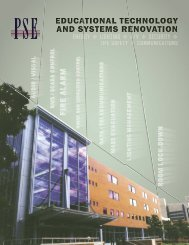 Educational Technology and Systems Renovation - Professional ...