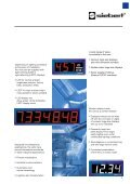 Numeric and alphanumeric large size displays Numeric ... - Multiprox - Page 3