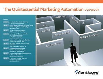 The Quintessential Marketing Automation GuideBook - LeedSeed