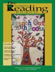 Spring 2011 - Florida Reading Association