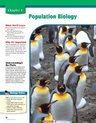 Chapter 4: Population Biology - Asheville City Schools