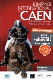 Jumping international de Caen 2012 - Conseil général du Calvados