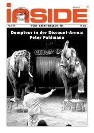 Dompteur in der Discount-Arena: Peter Pohlmann - Wulf Rabe ...