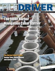 Full Issue (17 MB) - Pile Driving Contractors Association