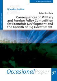 Consequences of Military and Foreign Policy Competion for ...