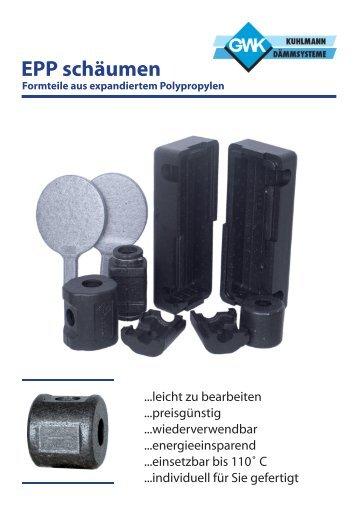EPP schäumen Formteile aus expandiertem Polypropylen