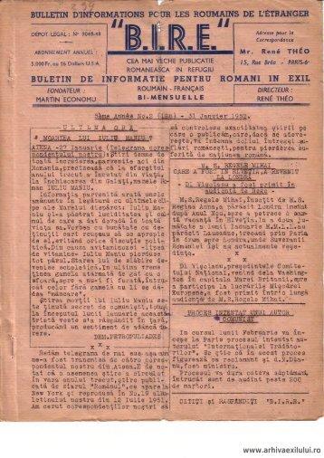 BIRE NR. 2(128) - arhivaexilului.ro