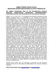 BayerischeASV 2011 - FUCHS PR & CONSULTING in Kempten im ...