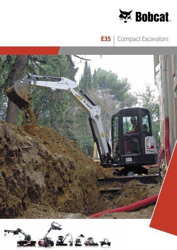 E35 | Compact Excavators - Bobcat.eu