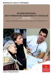 Schéma Régional des Formations Sanitaires et Sociales