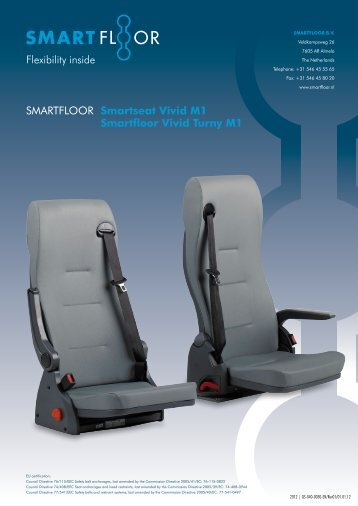 Smarfloor Vivid & Turny M1 - Smartfloor