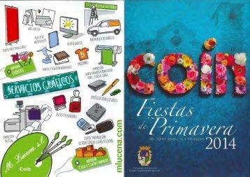 PROGRAMA FIESTAS PRIMAVERA 2014
