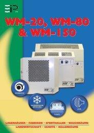 WM-20, WM-80 & WM-150 WM-20, WM-80 & WM-150 -
