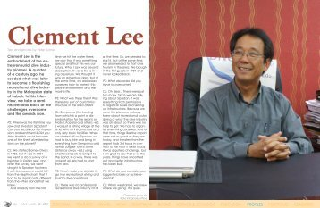Interview with Clement Lee, CEO of Borneo ... - X-Ray Magazine
