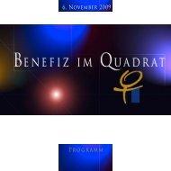 Benefiz Programm 2009 - Women´s Business Club - Germany