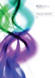 ECO Annual Report 2011 - Cept