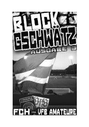 Ausgabe 03 – VfB Stuttgart II - Fanatico Boys