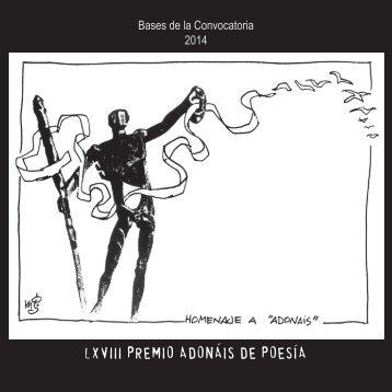 convocatoria-premio-adonáis-2014