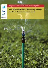 Producing enough food in a climate insecure world - World Water ...