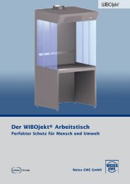 Der WIBOjekt® Arbeitstisch