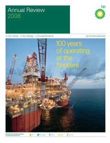 Annual Review 2008 - BP