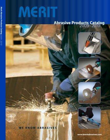 Merit Catalog M100 2009.qxd - Abrasive Specialties & Tools