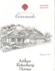 The Arbors - Arthur Rutenberg Homes - Coronado - Florida Luxury ...