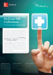 McGraw-Hill Collections - McGraw-Hill Education Australia & New ...